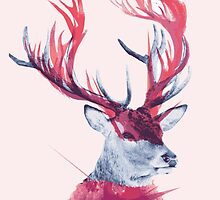 Deer Painting poster by EdWoody