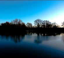 Blue Dusk by Benjamin Pollley