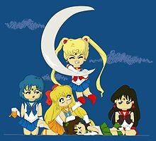 It's my moon Sailor Moon poster by EdWoody