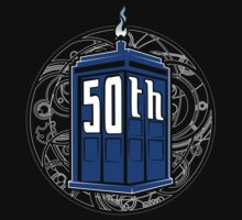 Happy 50th Tardis T-Shirt