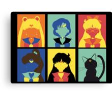 Sailor Pop Art poster Canvas Print