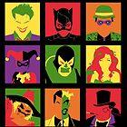 Villain PopArt poster by EdWoody