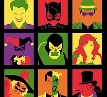 Villain PopArt poster by EdWoody