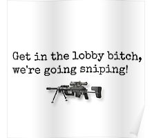 We're Going Sniping! Poster