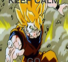 Don't Keep Calm, Go Super Saiyan (14, Motion Blur) by LagrangeMulti