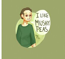 I like mushy peas by makjesdewafflus