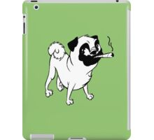 Smokin' Pug iPad Case/Skin