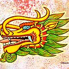 Thailand Dragon Mixed Media by chongolio