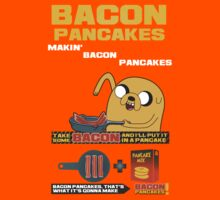 Bacon Pancakes by GVMAN