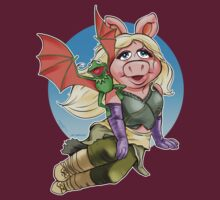 Miss Piggy Dothraki by UncaLar