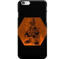 Flamedramon The Fire Of Courage iPhone Case/Skin