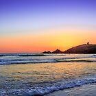 Sunset on Quiberon bay III by RomainChalaye