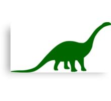 Brontosaurus / Apatosaurus Dinosaur Canvas Print
