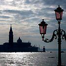 Venice in backlight by annalisa bianchetti
