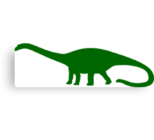Diplodocus Dinosaur Canvas Print