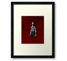 Connor - Zombie Framed Print