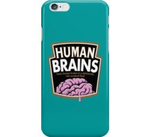 Human Brains iPhone Case/Skin