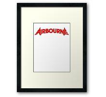 Airbourne (title) Framed Print