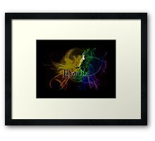 Into the Labyrinth Framed Print