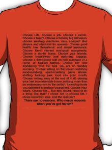 Trainspotting speech T-Shirt