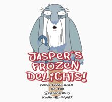 The Simpsons - Jasper's Frozen Delights by HalfFullBottle