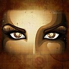 Steampunk Girl Eyes  by BluedarkArt