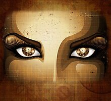 Steampunk Girl Eyes  by BluedarkArt