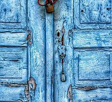 Cobalt Blue Door by Scott Anderson