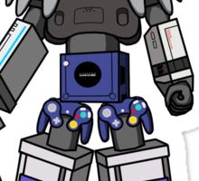 Nintendo Megazord Sticker