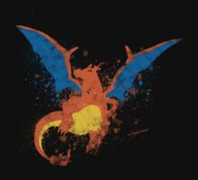 Charizard Paint Splatter by AYGhazali