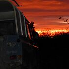 Landrover Sunset by elsiebarge