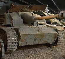 Sturmgeschutz III Self -Propelled Gun by mike  jordan.