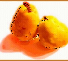 Two Pears by carlyncards