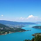 Le lac d'Annecy by heinrich
