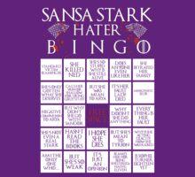 Sansa Stark Hater Bingo Card by ofhouseadama