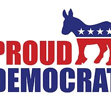 Proud Democrat Donkey by Democrat