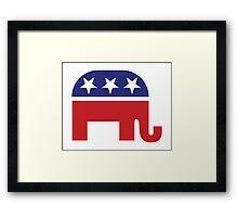 Republican Original Elephant Framed Print
