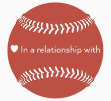 Relationship Status: Baseball (Orange) by swiener