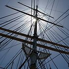 Tall Ship's Rigging by DaveKoontz