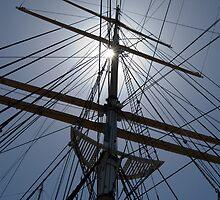 Tall Ship's Rigging by DaveKoontz