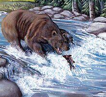 Grizzly by WildestArt