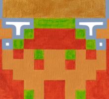 Legendary Hero w/ His Prize (NES) Sticker