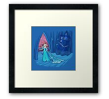 Frozen in Time and Space Framed Print