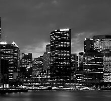 Sydney by Night by RedDash