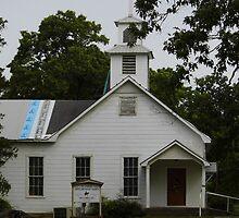 Small Town Church by WildestArt