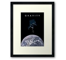 Gravity Framed Print