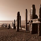 Breakwater - Sepia Version by NewModelAndy