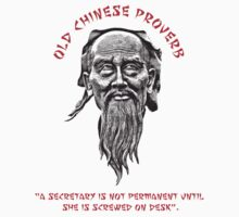 FUNNY OLD CHINESE PROVERB 1 by ZANDERILLOS