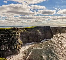 Cliffs of Moher by Tony Steinberg