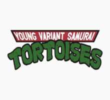 Young Variant Samurai Tortoises - (Teenage Mutant Ninja Turtles) by HalfFullBottle